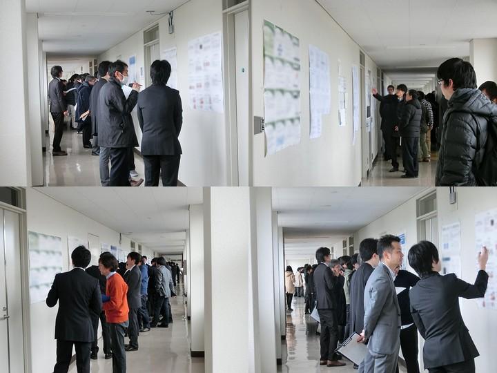 平成28年度電気電子情報系専攻(情報系)修士論文中間発表会を実施
