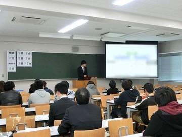 平成28年度知能情報工学科卒業論文審査会を実施